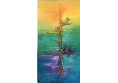Canvas schildering
